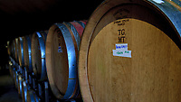 Wine cave at Holman Ranch Vineyards and Winery in Carmel Valley California