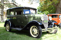 06 August 2016:  1931 Ford Model A<br /> <br /> Displayed at the McLean County Antique Automobile Association Car show at David Davis Mansion in Bloomington Illinois