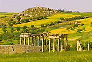 Tunisia-Dougga-Archaeological ruins