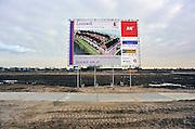 Nederland, Nijmegen, 13-12-2010Grond wordt bouwrijp gemaakt voor nieuwbouw bij Lent, de zogenaamde Waalsprong van Nijmegen.Foto: Flip Franssen/Hollandse Hoogte