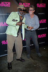 August 29, 2018 - New York, NY, USA - August 29, 2018  New York City..Frankie Faison  and Larry Pine attending 'An Actor Prepares' film premiere on August 29, 2018 in New York City. (Credit Image: © Kristin Callahan/Ace Pictures via ZUMA Press)