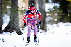 Evgeniy Garanichev (RUS) competes during Men 12,5 km Pursuit at day 3 of IBU Biathlon World Cup 2015/16 Pokljuka, on December 19, 2015 in Rudno polje, Pokljuka, Slovenia. Photo by Ziga Zupan / Sportida