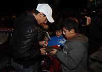 20091210: LISBON, PORTUGAL - SL Benfica Christmas Party at Victor Hugo Cardinali Circus. In picture: Angel Di Maria. PHOTO: Alvaro Isidoro/CITYFILES