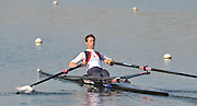 Caversham, Great Britain, Adam FREEMAN-PASK, GB Rowing Media Day at the Redgrave Pinsent Rowing Lake. GB Rowing Training Centre. WED 29.04.2009  [Mandatory Credit. Peter Spurrier/Intersport Images]