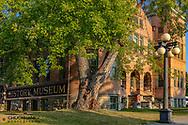 Central School History Museum in Kalispell, Montana, USA