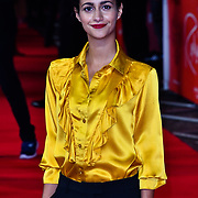 Ines Melab attend The Romanoffs - World Premiere at CURZON MAYFAIR, London, Uk. 2nd October 2018.