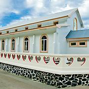 Local Church on Olesega, Ofu, American Samoa.