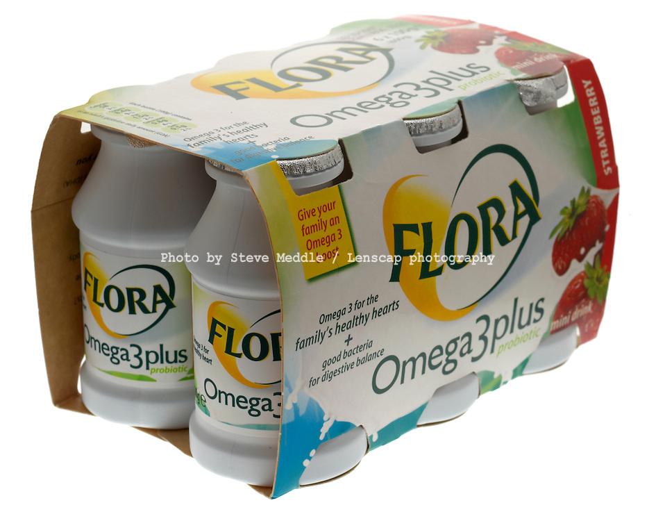 Flora Omega 3 Healthy Yogurts Drink
