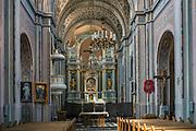 Barokowy kościół parafialny Świętej Trójcy - wnętrze, Tykocin, Polska<br /> Church of the Holy Trinity - inside, Tykocin, Poland