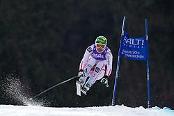 12.02.2011, Kandahar, Garmisch Partenkirchen, GER, FIS Alpin Ski WM 2011, GAP, Herren Abfahrt, im Bild Klaus Kroell (AUT) takes to the air competing in the men's downhill race on the Kandahar race piste at the 2011 Alpine skiing World Championships, EXPA Pictures © 2010, PhotoCredit: EXPA/ M. Gunn