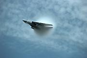 F-14D transonic vapor