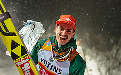 16.12.2017, Gross Titlis Schanze, Engelberg, SUI, FIS Weltcup Ski Sprung, Engelberg, im Bild Richard Freitag (GER, 2. Platz) // 2nd placed Richard Freitag of Germany during Mens FIS Skijumping World Cup at the Gross Titlis Schanze in Engelberg, Switzerland on 2017/12/16. EXPA Pictures © 2017, PhotoCredit: EXPA/JFK