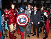 Marvel Comic Books At New York Stock Exchange