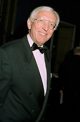 SIR DAVID WALKER at a dinner in London on 22nd May 1997.LYP 11
