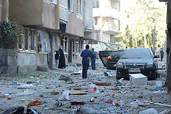 November 4, 2016 - Diyarbakir, Turkey - A car bomb attack by Kurdish militants in the southeastern Turkish city of Diyarbakir on Friday killed eight people and wounded more than 100, Prime Minister Binali Yildirim said. The attack in the country's largest Kurdish-majority city followed the overnight arrests of the two leaders of the Peoples Democratic Party (HDP) along with up to 11 other MPs from the group. (Credit Image: © Depo Photos via ZUMA Wire)