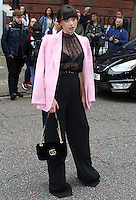 Foxes, London Fashion Week SS17 - Julien Macdonald, Seymour Leisure Centre, London UK, 17 September 2016, Photo by Brett D. Cove
