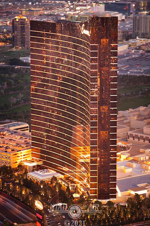 Aerials of the Encore Hotel
