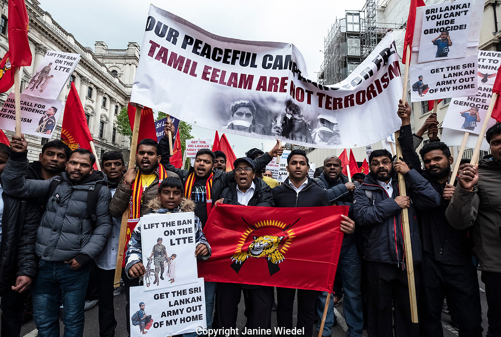 On the tenth anniversary, Tamils gather in London to remember the genocide of 2009 when the Tamil people were massacred at the hands of the Sri Lankan military. Over 140,000 Tamil people were unaccounted for.