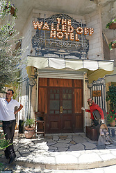The Walled Off Hotel (owned by Bansky) near the wall of separation in Bethlehem. From a series of travel photos taken in Jerusalem and nearby areas. Photo date: Wednesday, August 1, 2018. Photo credit should read: Richard Gray/EMPICS