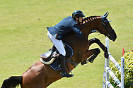 Werner MUFF (SUI) riding Daimler during the World Equestrian Festival, CHIO of Aachen 2018, on July 13th to 22th, 2018 at Aachen - Aix la Chapelle, Germany - Photo Christophe Bricot / ProSportsImages / DPPI