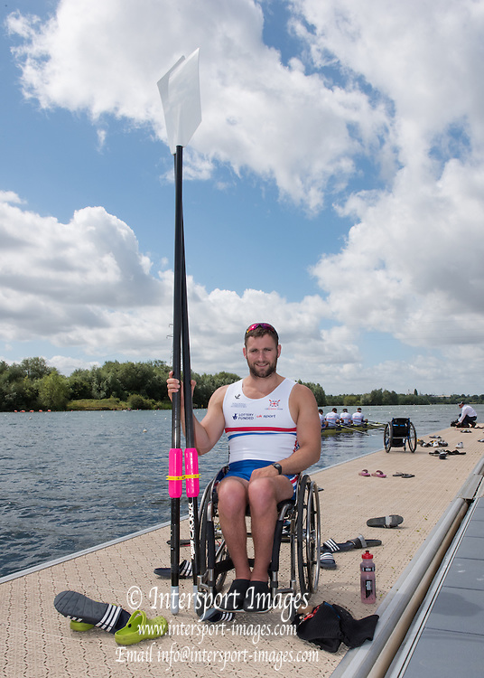 Caversham, England, GBR ASM1X, Tom AGGAR, 2015 GBRowing World Championship Team Announcement. Tuesday. 21.07.2015.  At the Reading Training Base. [Mandatory Credit. Peter SPURRIER/Intersport Images]