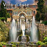 Pictures of Villa d'Este Tivoli,  Photos Images & Fotos
