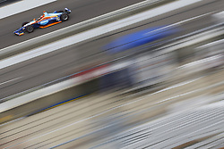 May 18, 2018 - Indianapolis, Indiana, United States of America - JR HILDEBRAND (66) of the United States brings his car down the frontstretch during ''Fast Friday'' practice for the Indianapolis 500 at the Indianapolis Motor Speedway in Indianapolis, Indiana. (Credit Image: © Chris Owens Asp Inc/ASP via ZUMA Wire)