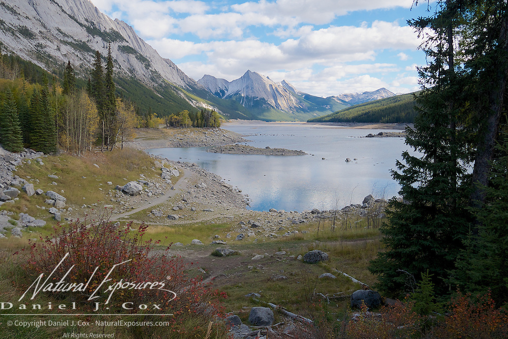 Medicine Lake, Jasper National Park, Alberta.