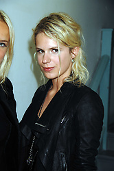 EUGENIE NIARCHOS at a party to celebrate the opening of a new art gallery, 20 Hoxton Square, Hoxton Square, London on 27th April 2007.<br />