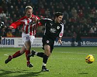 Photo: Mark Stephenson.<br />Cheltenham Town v Bristol City. Coca Cola League 1. 23/12/2006.<br />Bristol's City on the ball