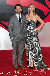© Licensed to London News Pictures. 22/03/2016. ZACH SNYDER and wife DEBORAH SNYDER attend the Batman V Superman: Dawn of Justice European film premiere. The film is based on the DC Comics characters. London, UK. Photo credit: Ray Tang/LNP