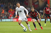 Football - 2018 / 2019 Premier League - AFC Bournemouth vs. Burnley<br /> <br /> Dwight McNeil of Burnley in action during the Premier League match at the Vitality Stadium (Dean Court) Bournemouth   <br /> <br /> COLORSPORT/SHAUN BOGGUST