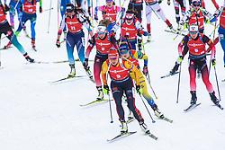 Denise Herrmann (GER) during the Mass Start Women 12,5 km at day 4 of IBU Biathlon World Cup 2019/20 Pokljuka, on January 23, 2020 in Rudno polje, Pokljuka, Pokljuka, Slovenia. Photo by Peter Podobnik / Sportida