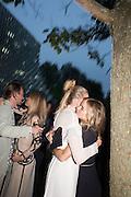 ALAN POWNALL; GEORGINA FORBES; GABRIELLA CALTHORPE; CRESSIDA BONAS, 2016 SERPENTINE SUMMER FUNDRAISER PARTY CO-HOSTED BY TOMMY HILFIGER. Serpentine Pavilion, Designed by Bjarke Ingels (BIG), Kensington Gardens. London. 6 July 2016