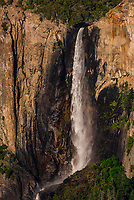 Bridalveil Fall, Yosemite Valley, Yosemite National Park, California USA.