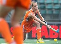 DEN HAAG - WILLEMIJN BOS  Nederland speelt oefenwedstrijd tegen USA in het Kyocera Stadion. COPYRIGHT KOEN SUYK