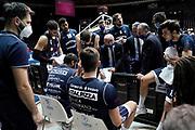 Dalmonte Luca<br /> UnaHotels Reggio Emilia Lavoropiu Fortitudo Bologna<br /> Legabasket Serie A UnipolSAI 2020/2021<br /> Bologna, 16/12/2020<br /> Foto A.Giberti / Ciamillo-Castoria