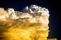 Thunder head (cloud), Littleton, Colorado USA