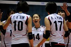 07-11-2010 VOLLEYBAL: WORLD CHAMPIONSHIP: PERU - KOREA: TOKYO<br /> Korea beat Peru with 3-1 / Youn-Joo Hwang<br /> ©2010-WWW.FOTOHOOGENDOORN.NL