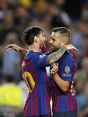 Barcelona v PSV Eindhoven, 18 Sept 2018