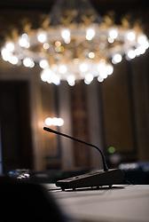 09.05.2017, Parlament, Wien, AUT, Parlament, Untersuchungsausschuss betreffend der Beschaffung von Kampfflugzeugen des Typs Eurofighter. im Bild Feature Lokal VI // during press conference of parliamentary enquiry committee according to the procurement of Eurofighter aircrafts at austrian parliament in Vienna, Austria on 2017/05/09, EXPA Pictures © 2017, PhotoCredit: EXPA/ Michael Gruber