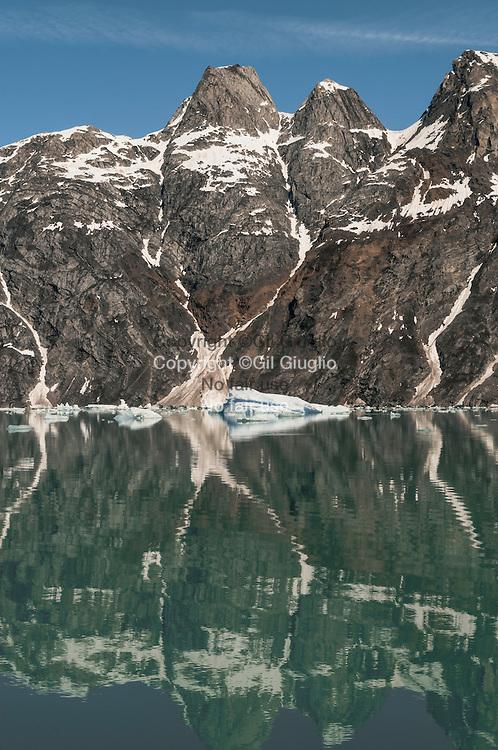 Groenland, Sermersooq, environs de Kuummiut, fjord de Tumu //  Greenland, Sermersooq, region of Kuumiut, Tumu fjord