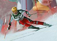 Alpint, Hermann Maier,  VM alpint, St. Anton Østerrike. Utfor MAIER, Hermann           SKI alpin  …sterreich<br />                                                Abfahrt