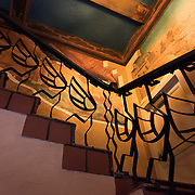 Stairway at the Kimo Theater in Albuquerque, New Mexico