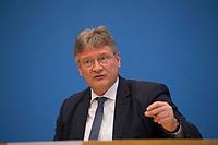 DEU, Deutschland, Germany, Berlin, 12.03.2018: Jörg Meuthen, Alternative für Deutschland (AfD), in der Bundespressekonferenz zum Koalitionsvertrag von CDU, CSU und SPD.