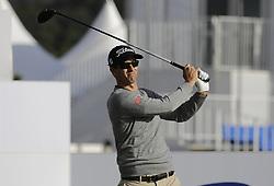 October 19, 2017 - Seogwipo, Jeju Island, South Korea - Adam Scott of Australia action on the 10th tee during an PGA TOUR The CJ CUP NINE BRIDGE at Nine Bridge CC in Jeju, South Korea. (Credit Image: © Ryu Seung Il via ZUMA Wire)