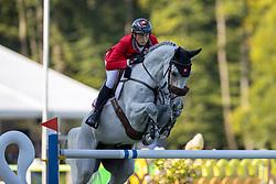 Fuchs Martin, SUI, Leonie Jei<br /> European Championship Riesenbeck 2021<br /> © Hippo Foto - Dirk Caremans<br /> 05/09/2021
