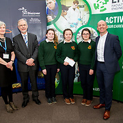 27.04.2016.          <br />  Kalin Foy and Ciara Coyle win SciFest@LIT<br /> Kalin Foy and Ciara Coyle from Colaiste Chiarain Croom to represent Limerick at Ireland's largest science competition.<br /> <br /> Scoil Mhuire School Ennistymon students, Eleanor O'Loughlin, Roisin Callinan and Ramona Greene's project, Formulating a seaweed based skin cream using the North Clare seaweeds Fucus vesiculosus and Fucus serratus  for potential use in the cosmeceutical industry, was Intermed/senior second in the Life Sciences Category.  Eleanor O'Loughlin, Roisin Callinan and Ramona Greene are pictured with George Porter, SciFest and Brian Aherne, Intel<br /> <br /> Of the over 110 projects exhibited at SciFest@LIT 2016, the top prize on the day went to Kalin Foy and Ciara Coyle from Colaiste Chiarain Croom for their project, 'To design and manufacture wireless trailer lights'. The runner-up prize went to a team from John the Baptist Community School, Hospital with their project on 'Educating the Youth of Ireland about Farm Safety'.  Picture: Alan Place