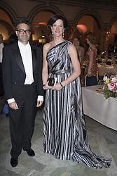 David Batra, Anna Kinberg Batra <br /> <br />  <br /> <br />  beim Nobelbankett 2016 im Rathaus in Stockholm / 101216 <br /> <br /> <br /> <br /> ***The Nobel banquet, Stockholm City Hall, December 10th, 2016***