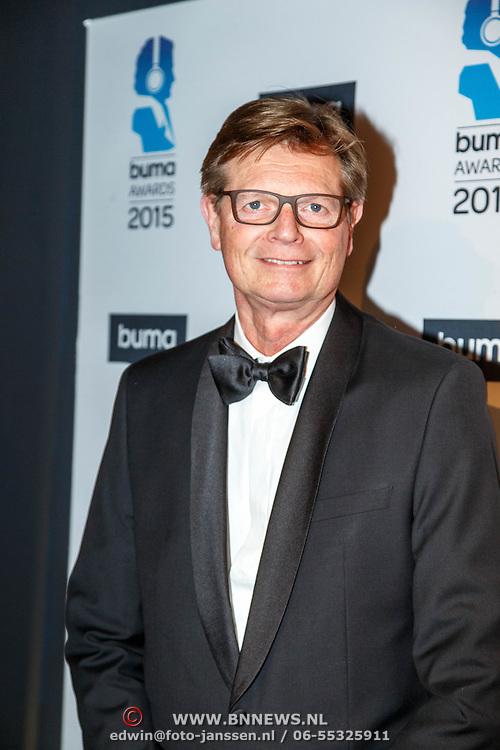NLD/Hilversum/20150217 - Inloop Buma Awards 2015, BumaStemra directie-voorzitter Hein van der Ree